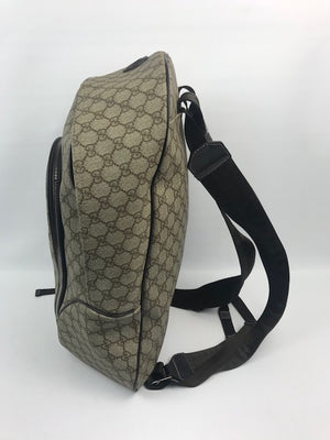 Gucci GG Supreme Monogram Large Backpack