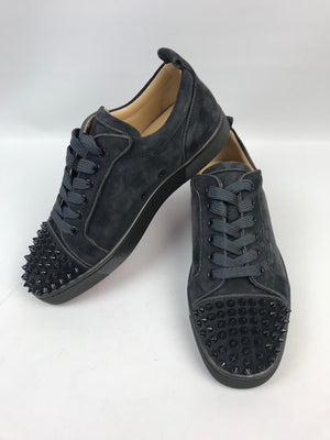 Brand New Christian Louboutin Louis Junior Spikes Fusain 40