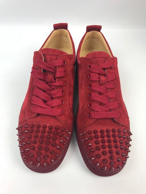 Brand New Christian Louboutin Junior Spikes Veau Velours 40