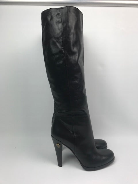 Brand New Black Gucci Knee Boots 37.5