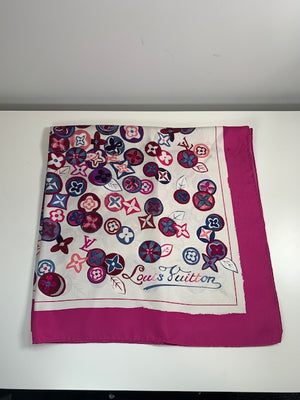 Louis Vuitton Silk Square Scarf