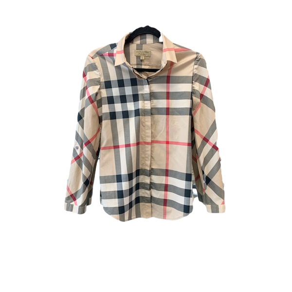 Burberry Classic Check Fitted Shirt XS