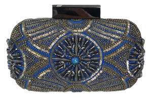 Brand New Mathew Williamson Embellished Beaded Clutch