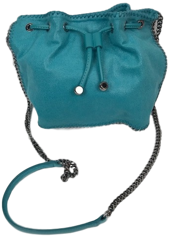 Brand New Stella McCartney Turquoise Shoulder Bag