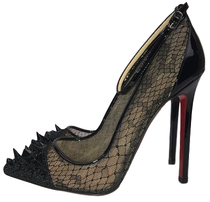 huge discount 7cc6d c0bd5 Brand New Christian Louboutin Lace, Spike And Strass Pumps 36