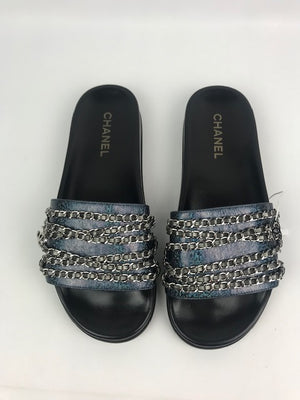 Brand New Chanel Chain Sliders 42