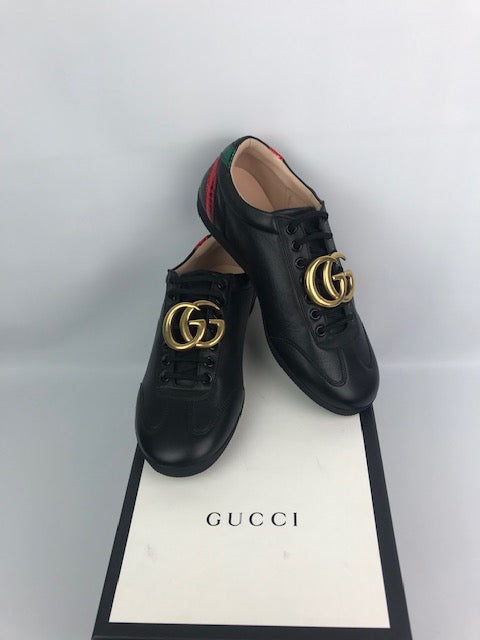 Brand New Gucci Marmont GG Low Sneakers 39.5