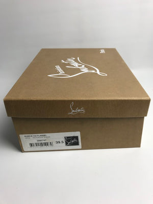 Brand New Christian Louboutin Bianca Flannel Pumps 39.5