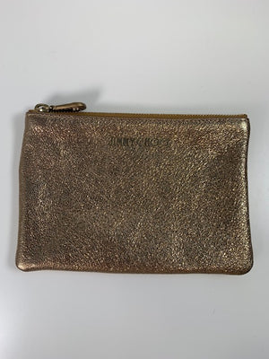 Jimmy Choo Gold Pouch