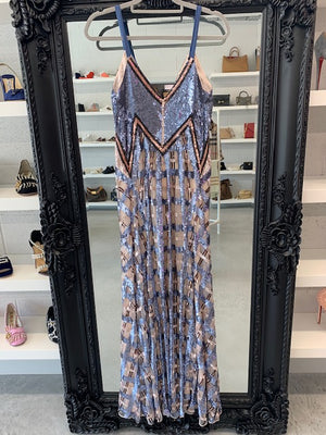 Brand New Temperley Akiko Strappy Dress Size 12 UK