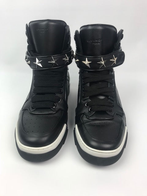 Givenchy Tyson Star High Tops Black 43