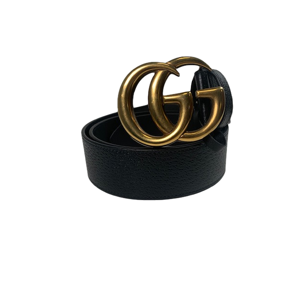 Brand New Gucci Marmont 4cm Wide Belt Size 100 Grained Leather
