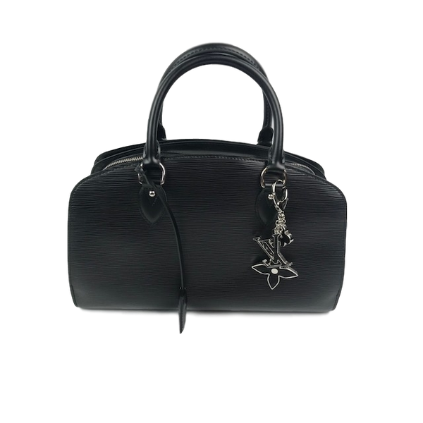 Brand New Louis Vuitton Epi Leather Pont-Neuf PM Black With Charms