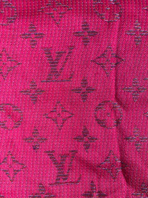 Louis Vuitton Pink Rainbow Scarf