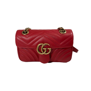 Brand New Gucci Marmont Mini Bag Red
