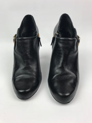 Gucci Black Booties 37