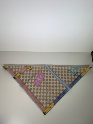 Louis Vuitton Neckerchief/ Bandana Summer Trunks Damier Azur