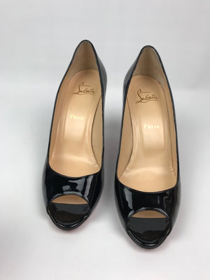 Christian Louboutin Yootish Black Patent 39