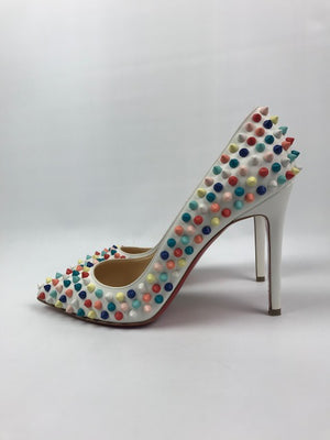 Christian Louboutin Multicolour Spike Pigalle 38.5