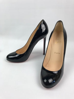 Christian Louboutin Lady Lynch Black Patent 38