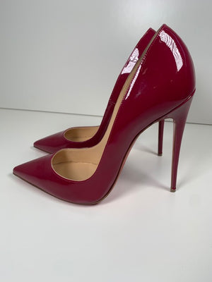 Christian Louboutin So Kate Cranberry Patent 41