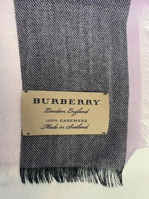 Burberry Cashmere Lightweight Scarf
