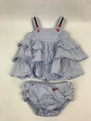 Baby Girls Gucci 2-Piece 3-6 Months