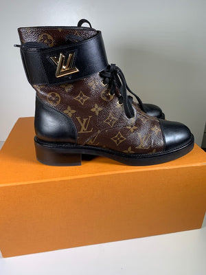 Louis Vuitton Wonderland Ranger Boots 40