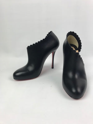 Brand New Christian Louboutin Scalopo Booties 38.5