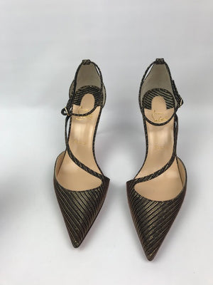 Brand New Christian Louboutin Fliketta Gold Chain 39