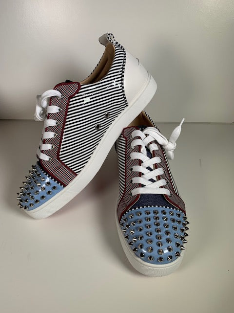 Brand New Christian Louboutin Louis Junior Spikes 42.5