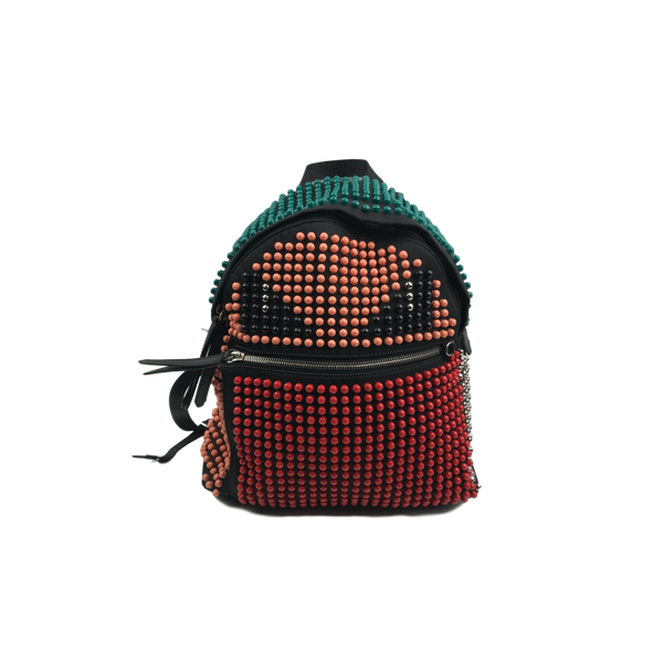 Fendi Monster Buggies Beaded Backpack