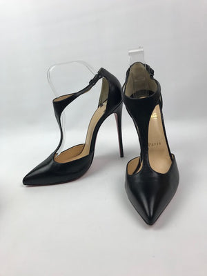 Brand New Christian Louboutin J String Black 40