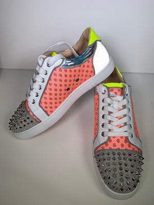 Brand New Christian Louboutin Seavaste Spike Sneakers 44.5