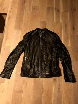 Brand New Belstaff K Racer Black-Brown Leather Jacket 44
