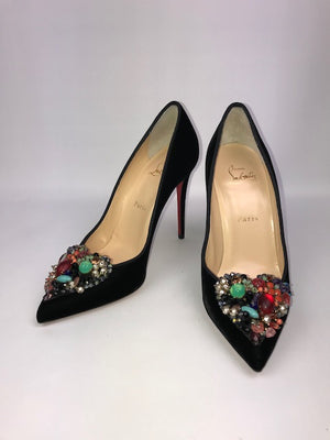 Brand Christian Louboutin New Diva Cora Pumps 38