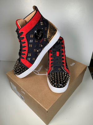 Christian Louboutin Loubi In The Sky Hightops 38