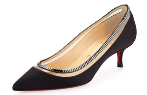 Brand New Christian Louboutin Paulina Strass Pump Black 39