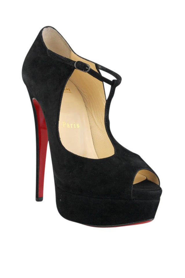 Brand New Christian Louboutin Altapoppins Black 40.5