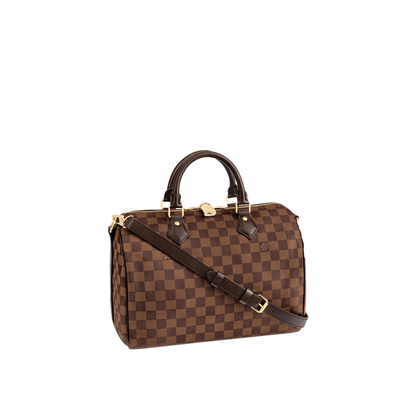 Raffle Tickets for Louis Vuitton Speedy 30 Bandouliere Damier Ebene