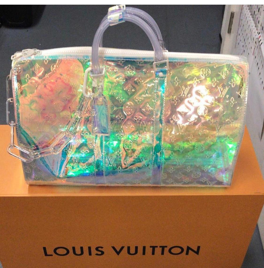Louis Vuitton Monogram Prism Keepall Limited Edition