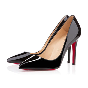 Christian Louboutin Pigalle Black Patent 39.5