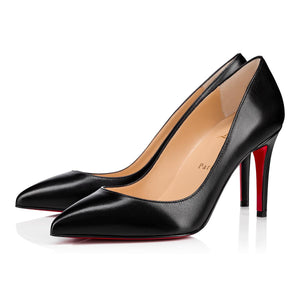 Brand New Christian Louboutin Pigalle Nappa Shiny Black 41