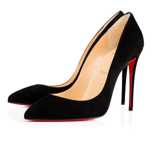 Brand New Christian Louboutin Pigalle Follies Black Suede 41.5