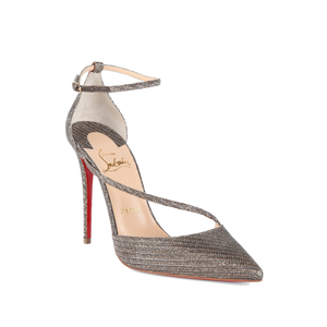 Bramd New Christian Louboutin Fliketta Gold Chain 39