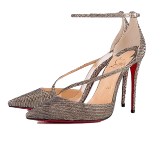 Brand New Christian Louboutin Fliketta Gold Chain 39.5