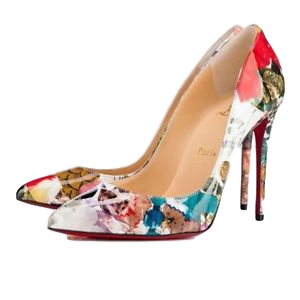 Christian Louboutin Pigalle Follies Patent Trash 39