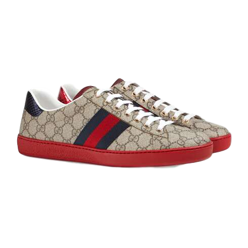 Gucci Ace GG Supreme Sneakers 6 (Runs Large)