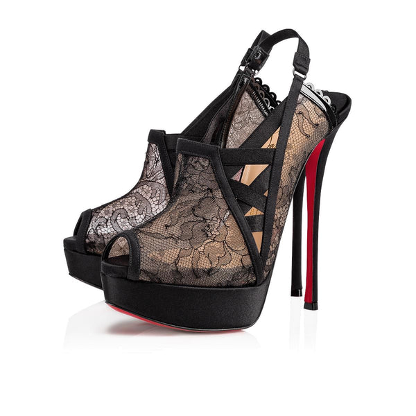 Brand New Christian Louboutin Guiptik Lace 40 (Small Fit)