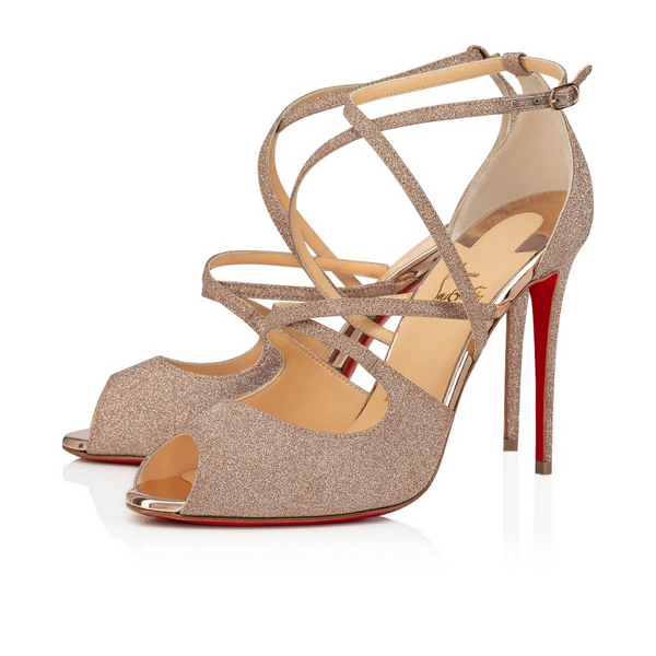 Brand New Christian Louboutin Holly Sandal Courtesane 36